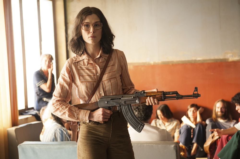 Rosamund Pike stars in Entebbe