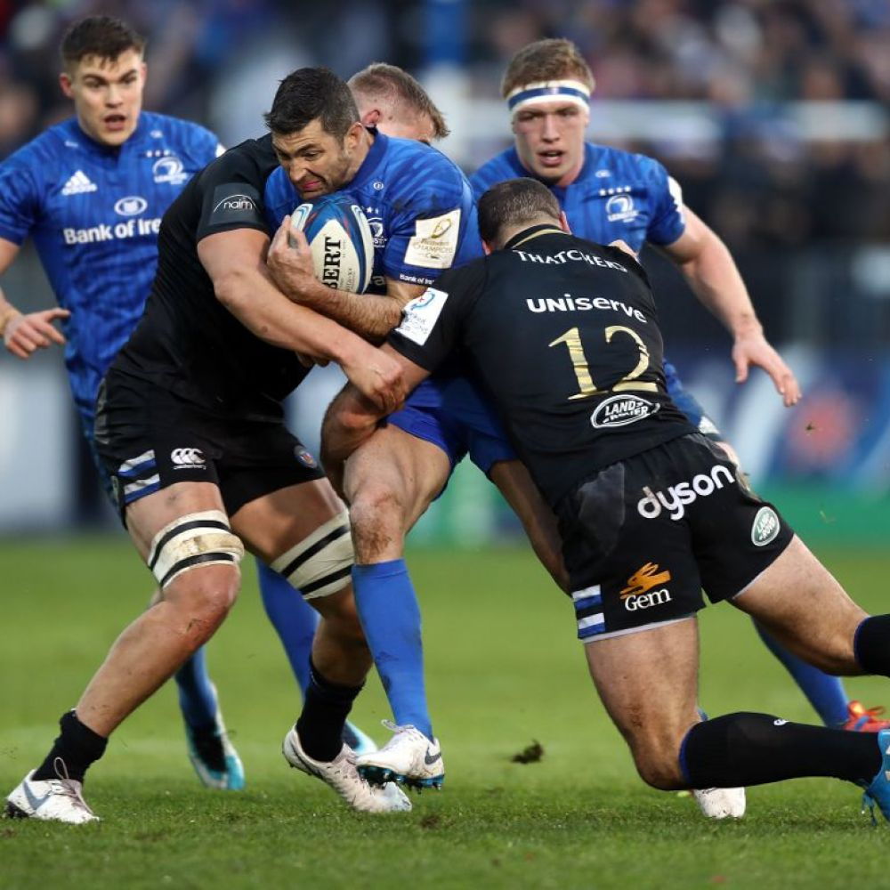 Leinster win arm wrestle with Bath