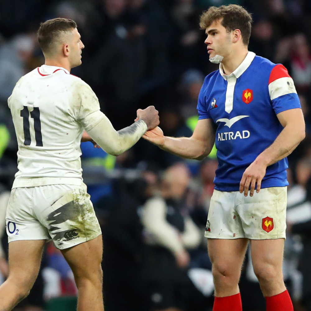 Player head-to-heads from England v France