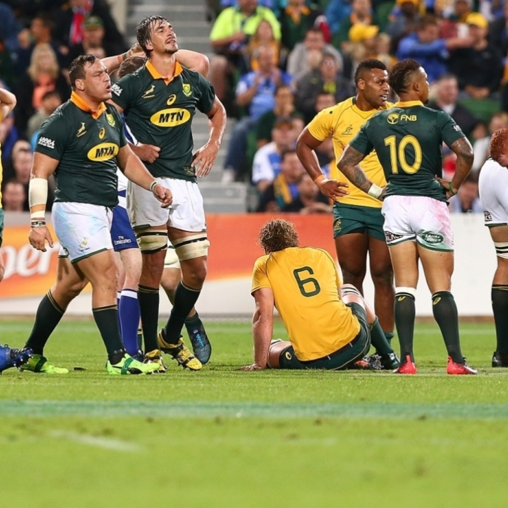 Wallabies And Springboks Draw In Perth