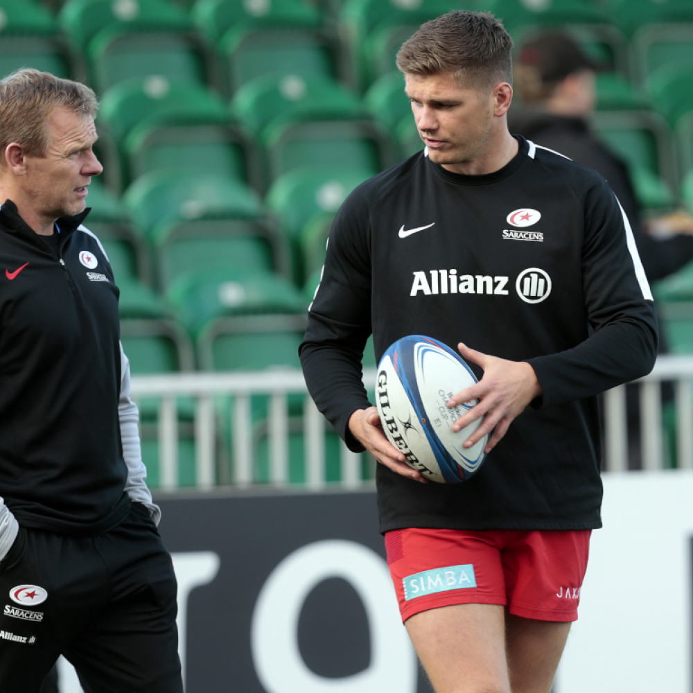 Owen Farrell 'incredibly regretful' over high tackle