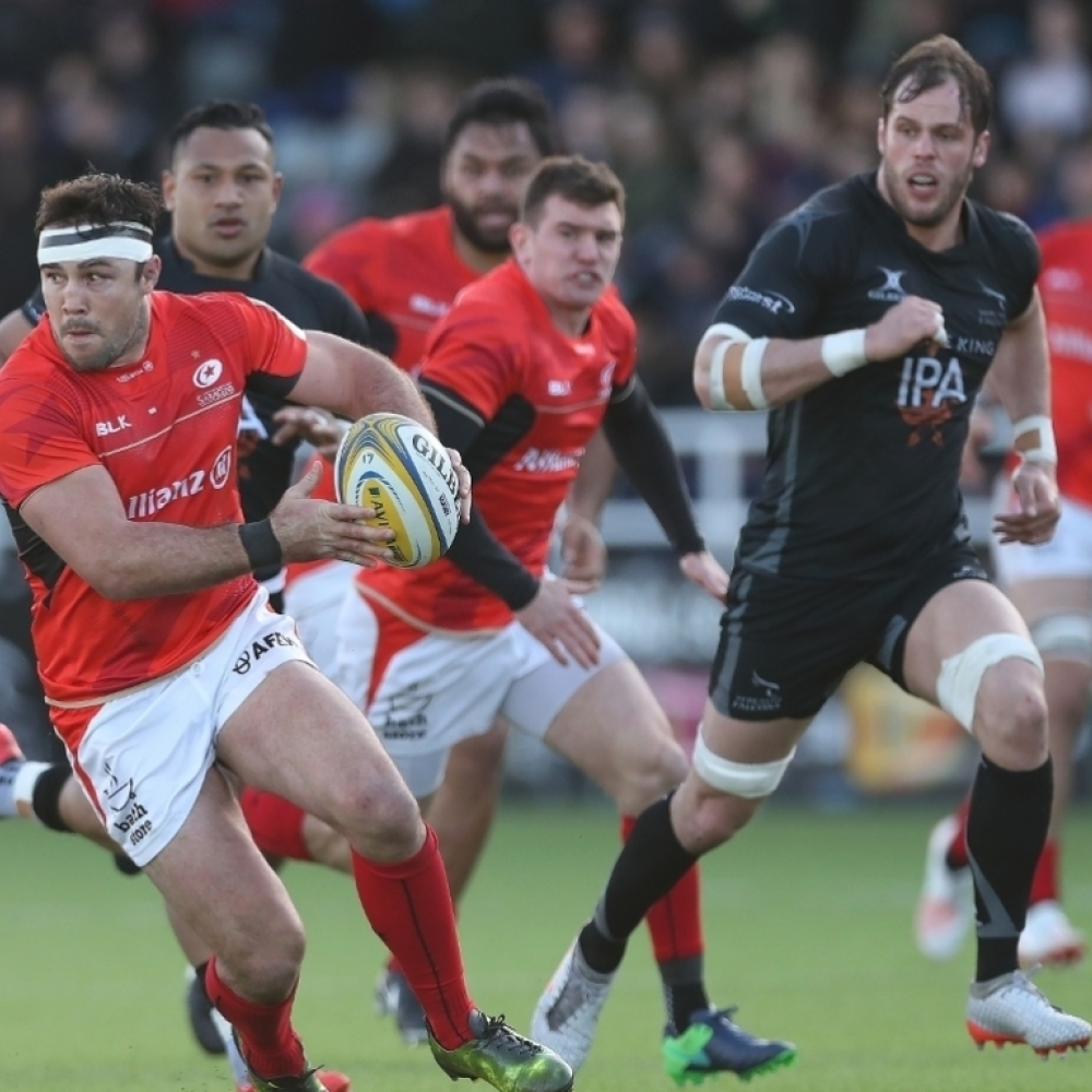 Saracens To Face Falcons In Usa