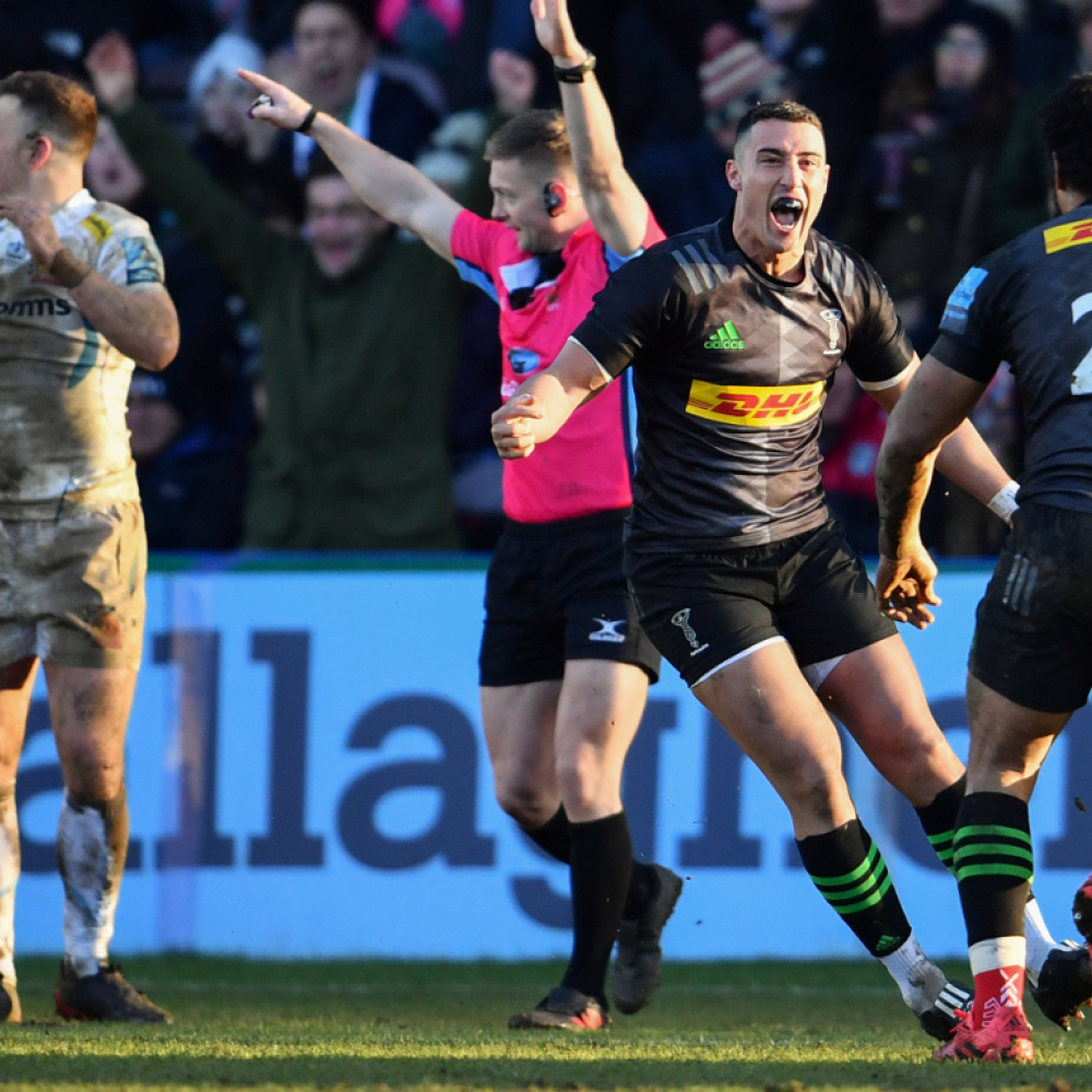 Harlequins and Exeter to kick off new Premiership season