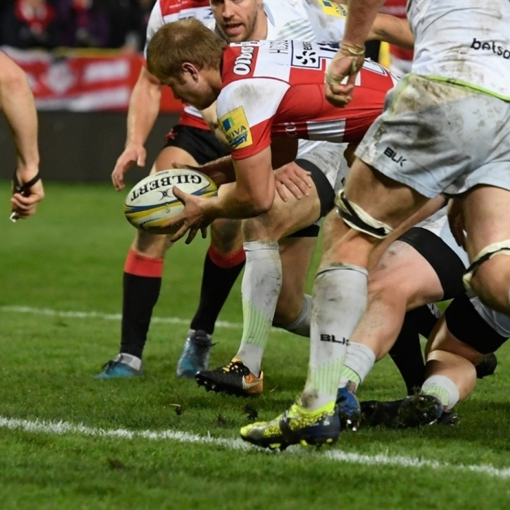 Gloucester Fight Back To Beat Saracens